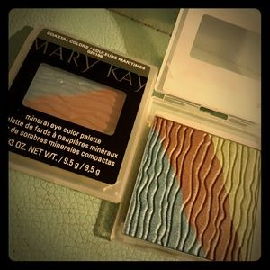 Mary Kay mineral eye coastal colors palette